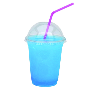 Anew Borculo blue slushies
