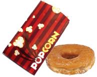 popcorn or donut